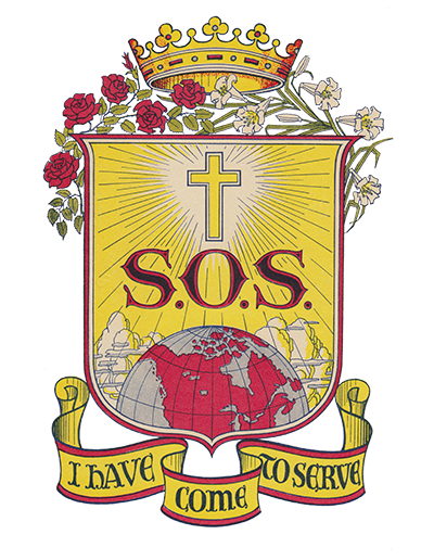 The Sisters of Service crest